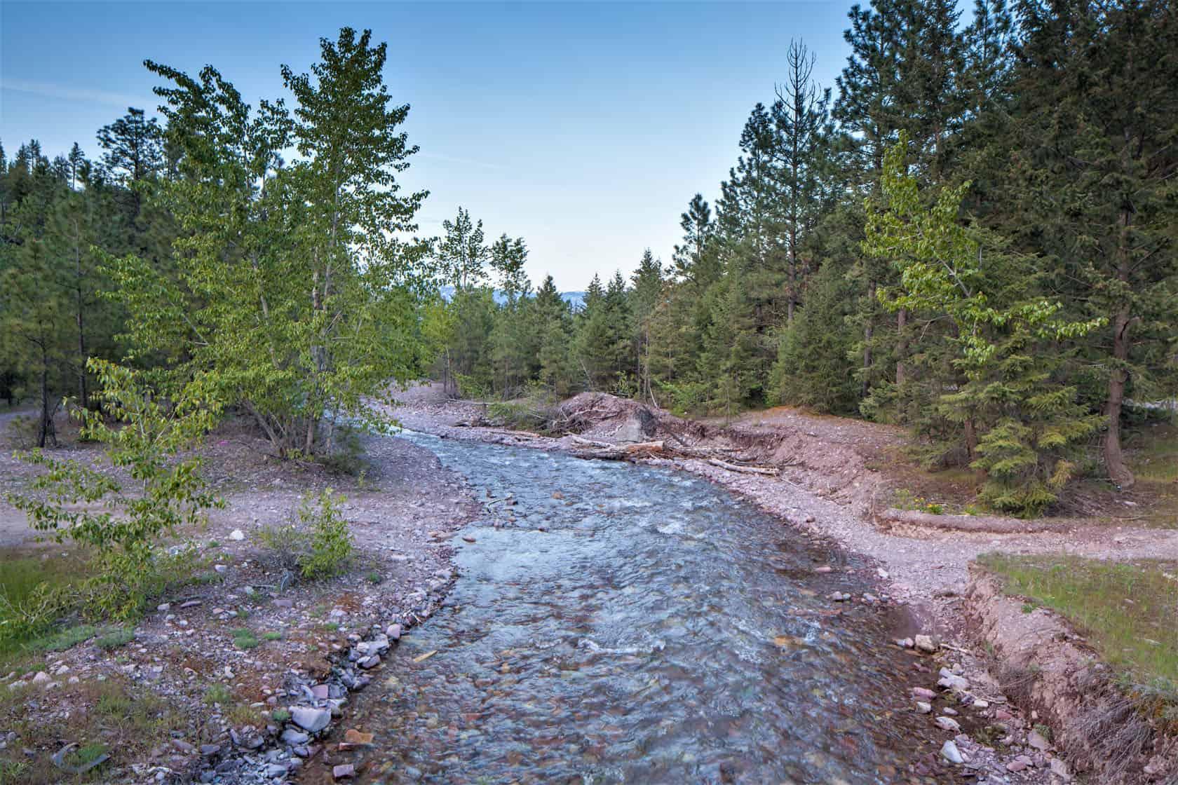 Mountain Stream Montana Wild Horse Mountain Ranch