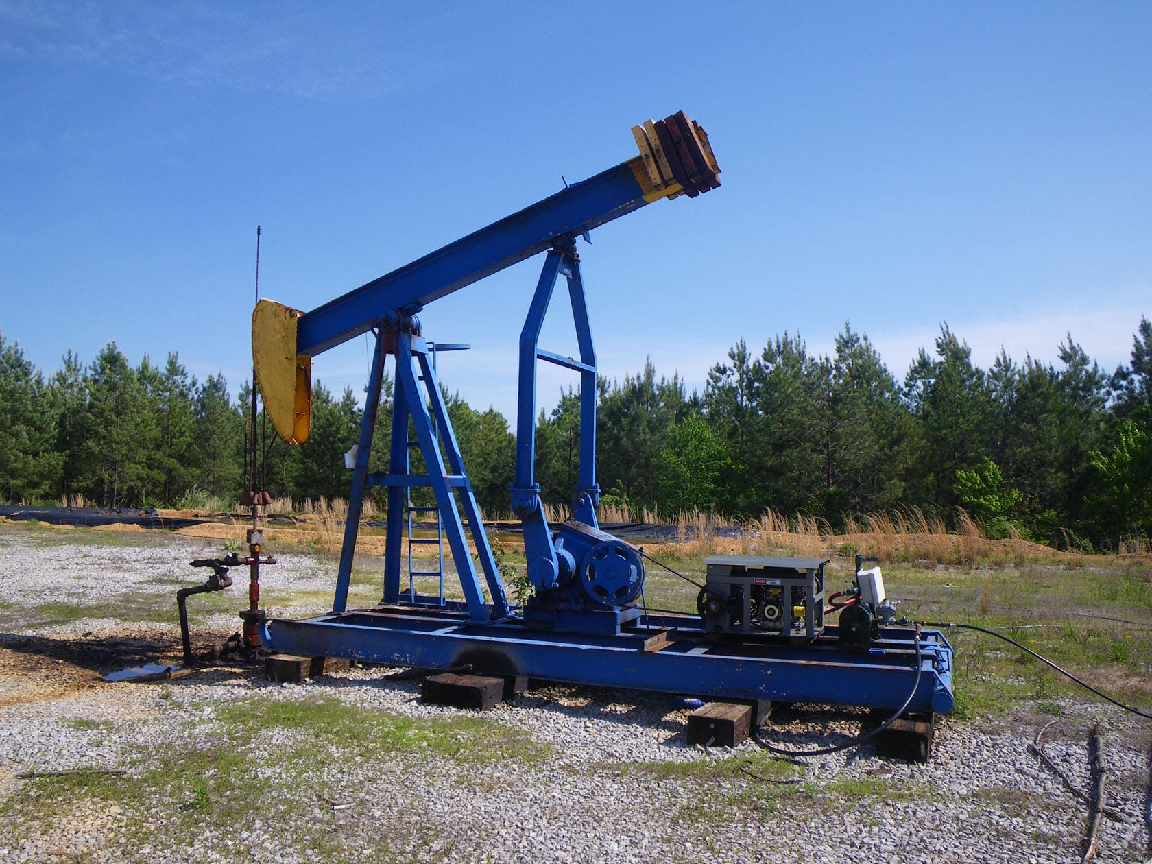 Oil Well Tennessee Pemberton Tract
