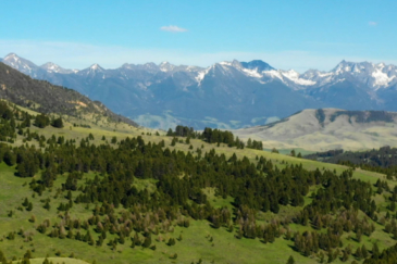 Mountain Views Aspen Canyon Ranch Montana Cover