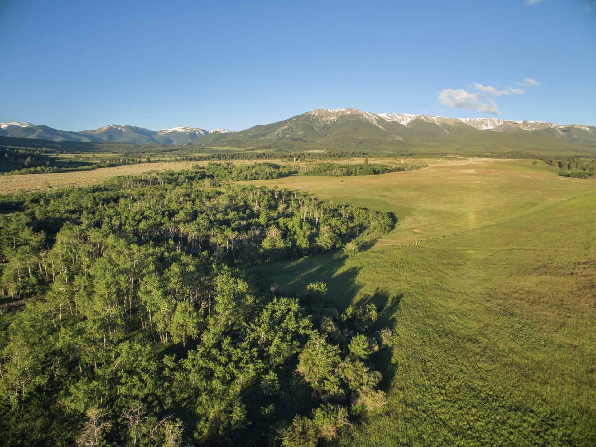 elk ridge ranch land for sale montana mountains trees valley