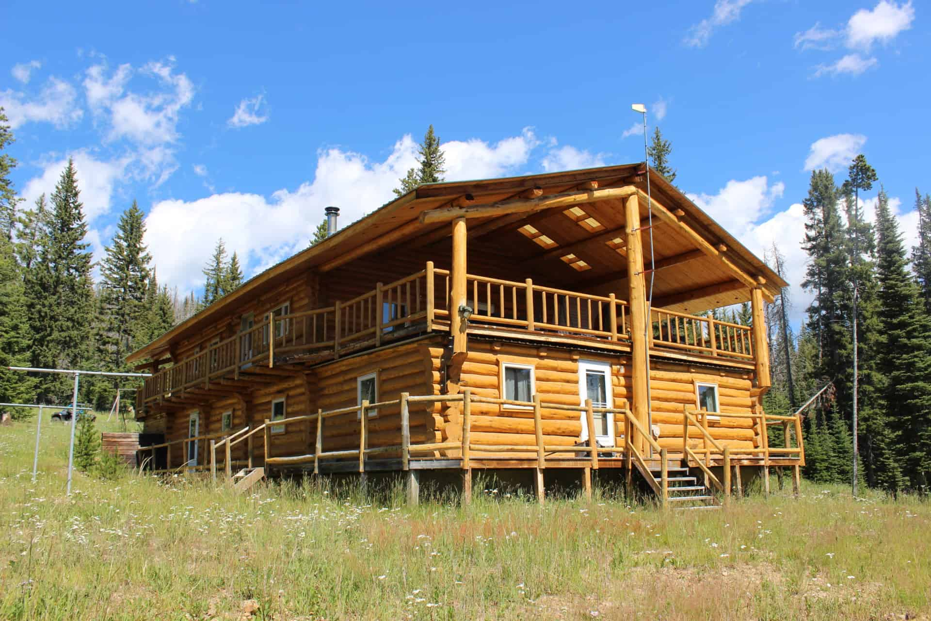 Hunting Cabin Montana Hoodoo Creek Mountain Retreat