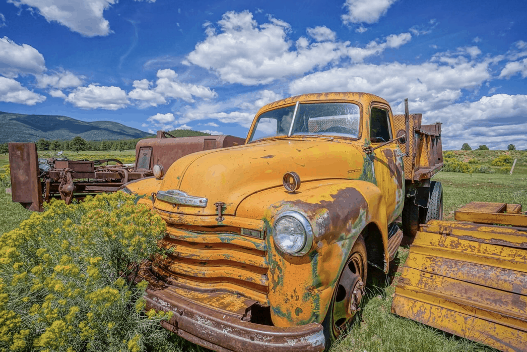 antique truck new mexico 6 mile creek ranch