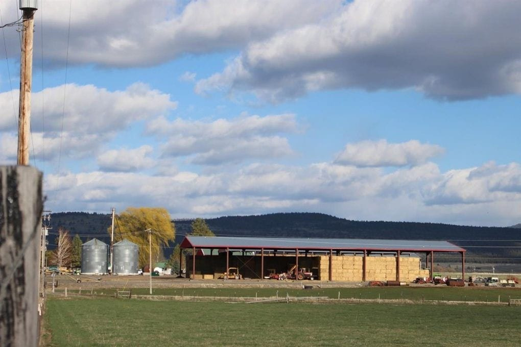 HQ From West Oregon Quarter Circle X Ranch