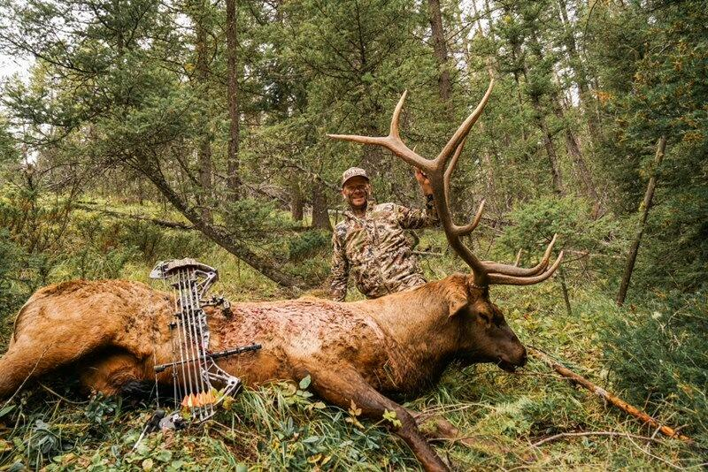 elk bow hunting montana little valley ranch