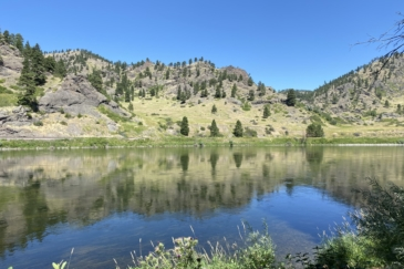 fly fishing property for sale montana missouri river cabin water