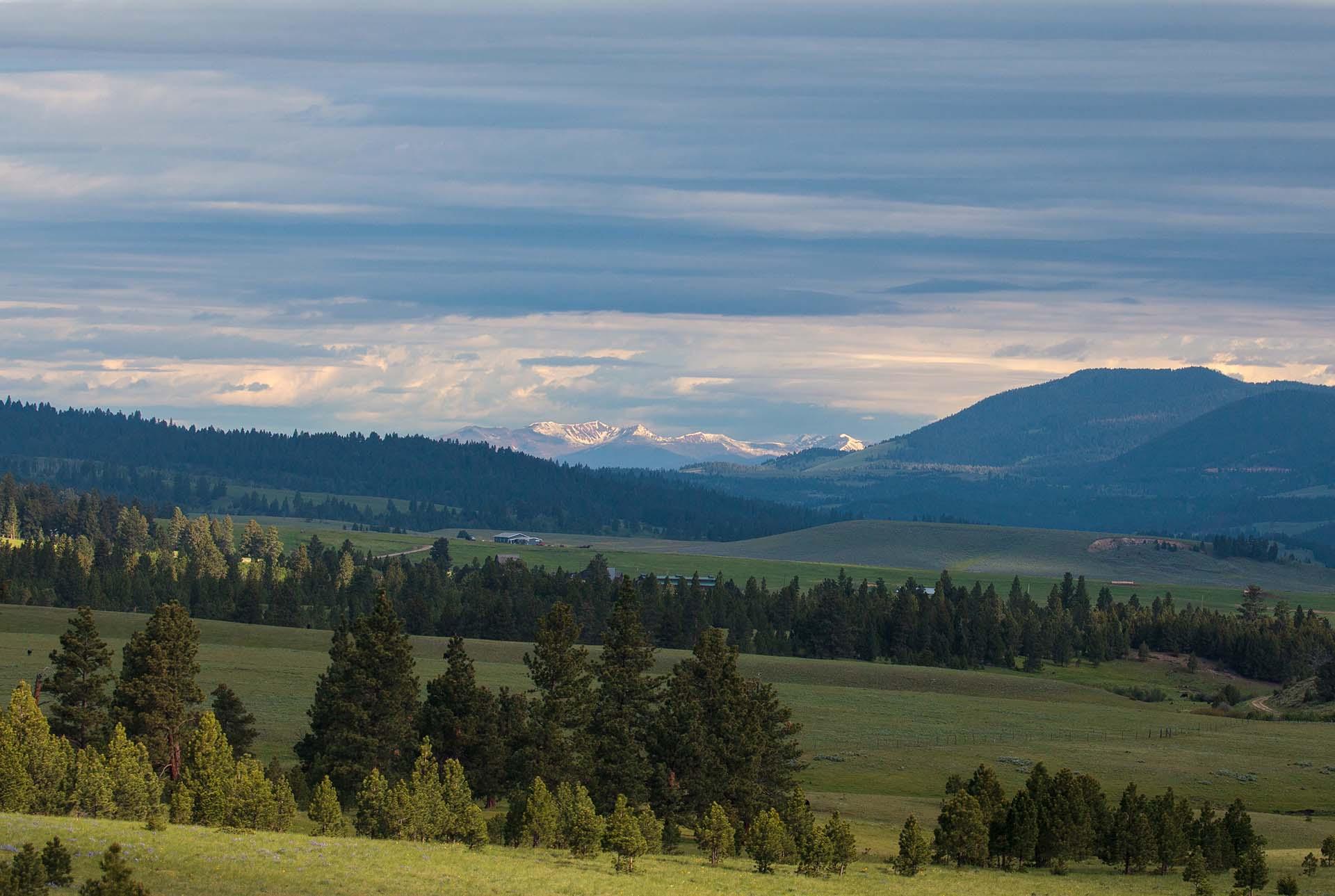 mountain views montana little valley ranch