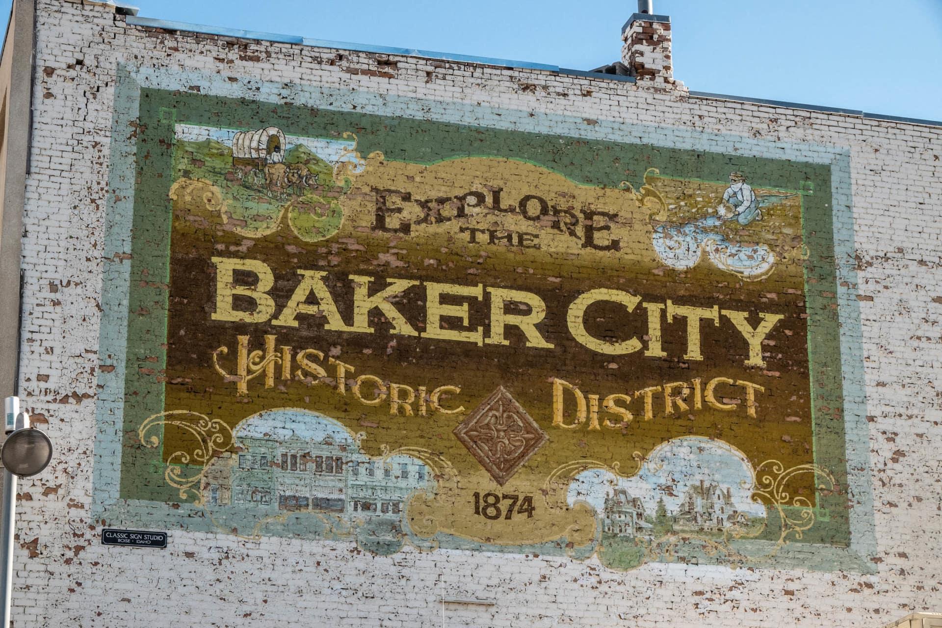 Baker City Historic District Oregon Chandler Hereford Ranch North Unit