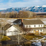 Bozeman Montana Home For Sale East Gallatin River Farmhouse