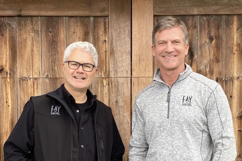 Greg Walker and Robert Martin Colorado Ranch Sales Agent
