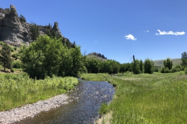 Fishing Property for Sale Montana Four Creeks Sporting Ranch