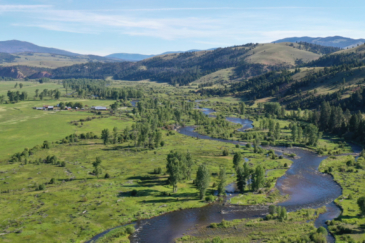 Montana Ranch for sale Rock Creek Cattle Ranch