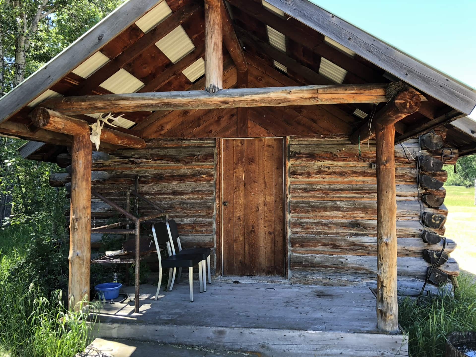 Off the Grid Cabin Four Creek Sporting Ranch Big Timber Montana