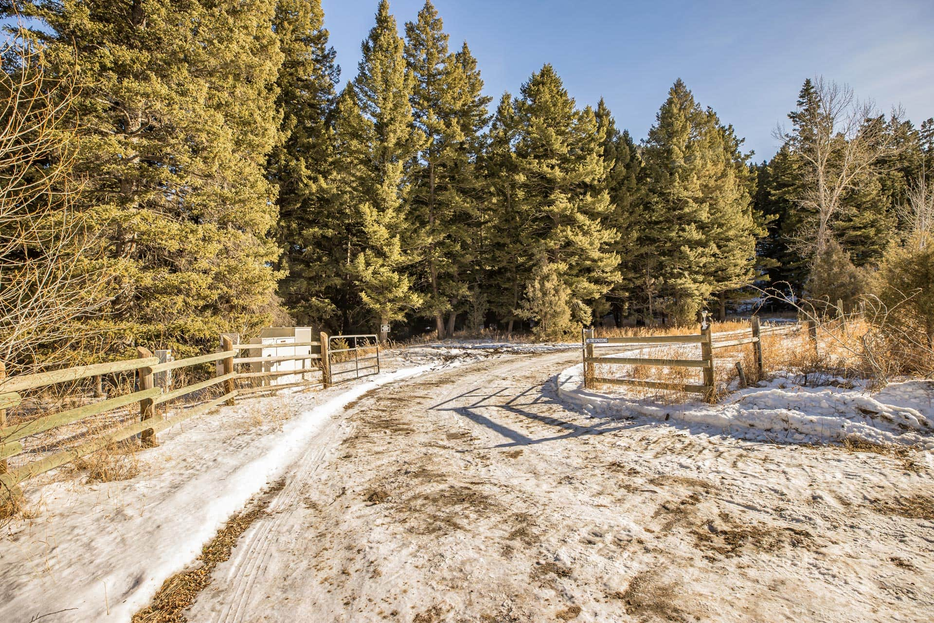 property gates montana mill creek ranch