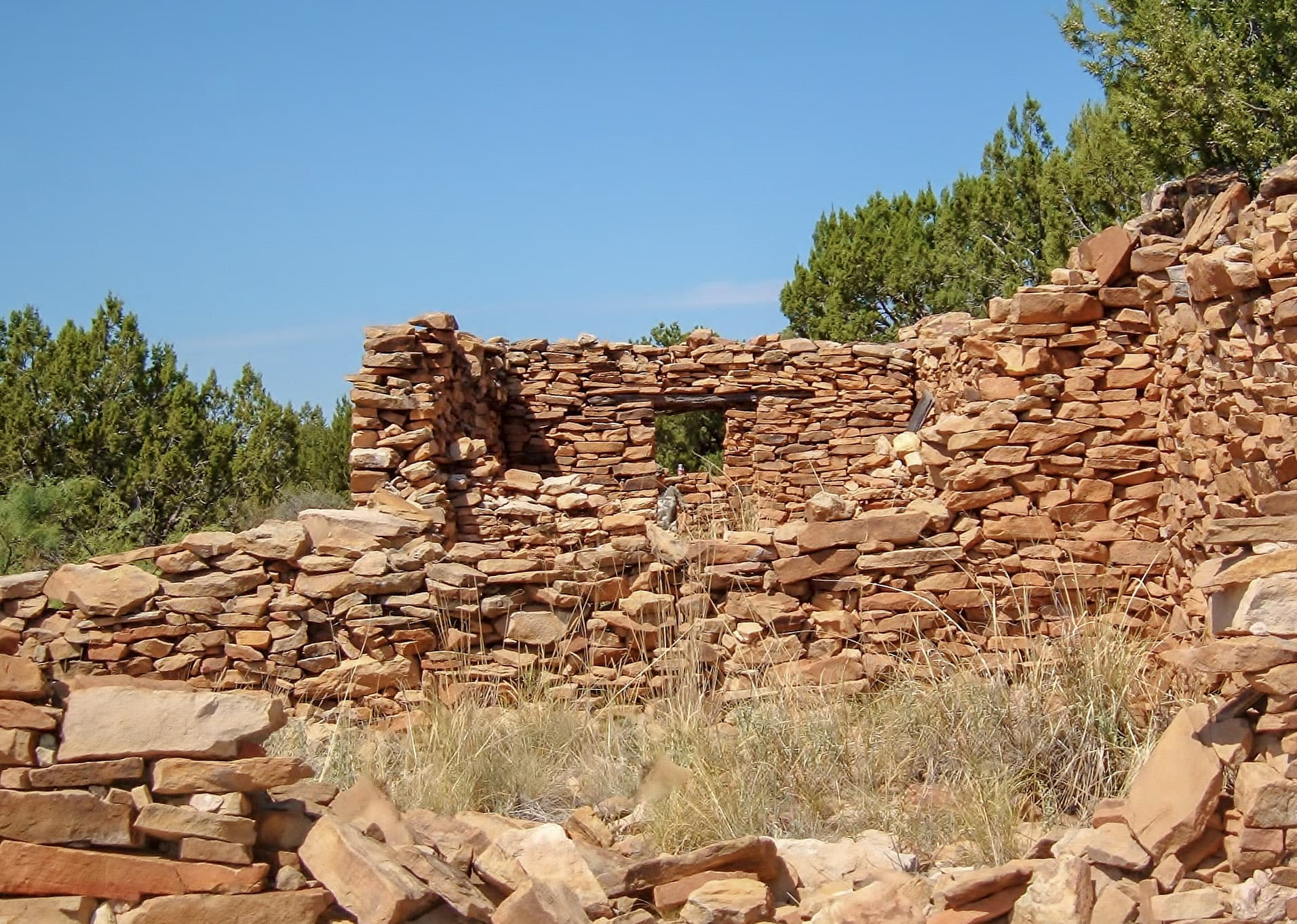 indian ruin new mexico cottonwood springs north