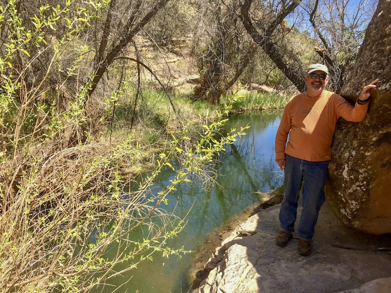 stan by creek new mexico cottonwood springs north