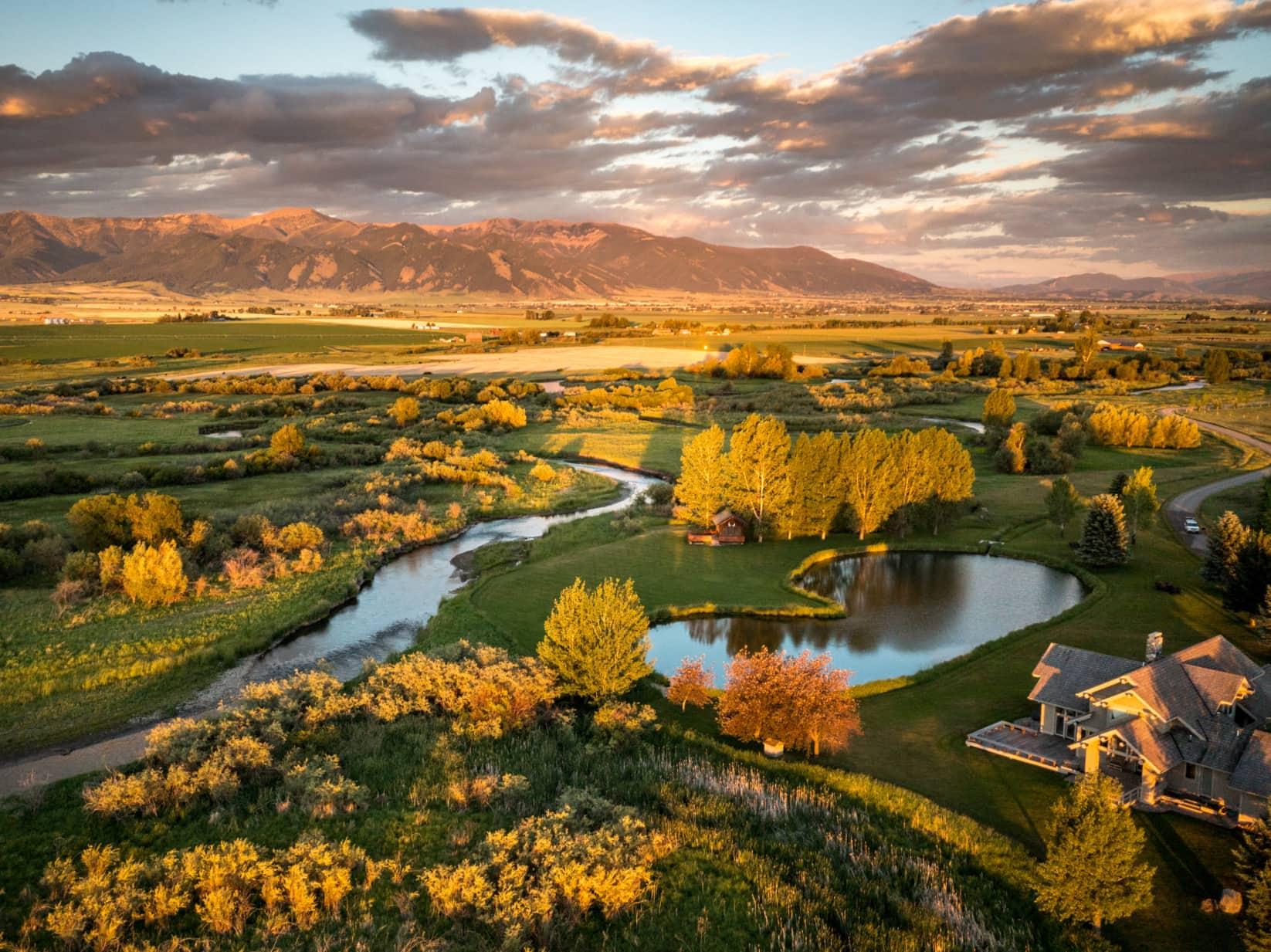 Bozeman Land for Sale Montana East Gallatin River Ranch