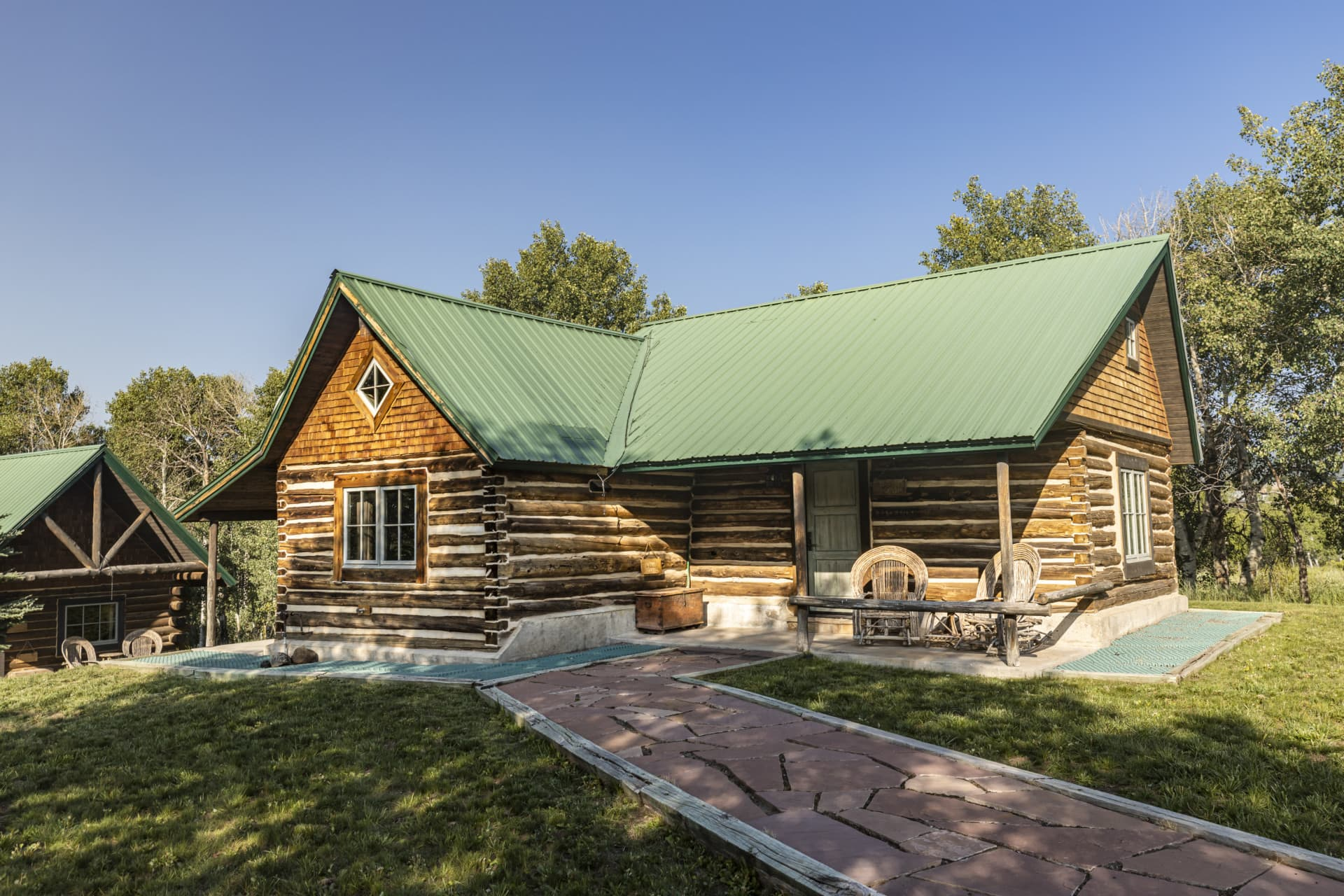 Twin Cabins Guest Residence Colorado Ragged Mountain Ranch